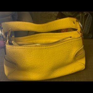 Very Rare Yellow Michael Kors Mini-bag.